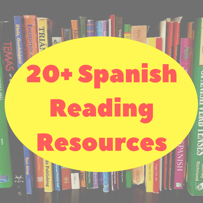 20+ Spanish Reading Resources – Viva Language Services