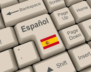 Espanol on keyboard