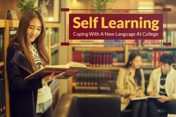 Self-learning a language