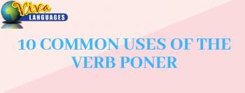 Uses of poner